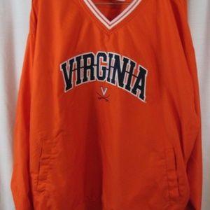 ProEdge Virginia Cavaliers V Neck Pullover Jacket